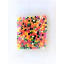 200 Perles d'eau magique multicouleur