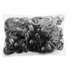 600 élastiques Argentés - Recharge loom