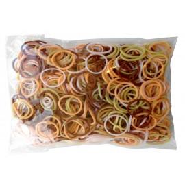 600 élastiques NUANCES PEAU - Recharge loom