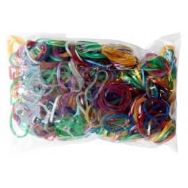 600 élastiques METALLISÉS - Recharge loom