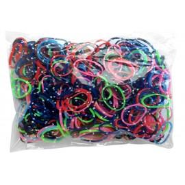 600 élastiques BANDANA - Recharge loom
