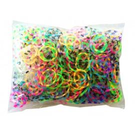 600 élastiques LEOPARD - Recharge loom