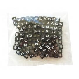 Perles Lettres Noires