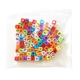 Beads Colored Letter