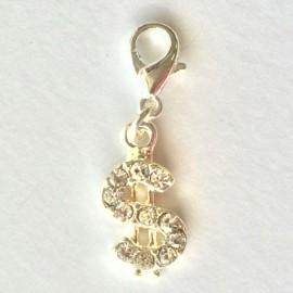 Dollar Diamant pendentif Creastic Bracelet