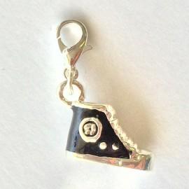 Chaussure Noire pendentif Creastic Bracelet