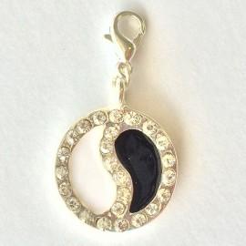 Médaille zen diamant pendentif Creastic Bracelet