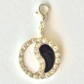 Zen Diamond medal Charm Creastic Bracelet