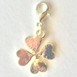 Clover flower Charm Creastic Bracelet