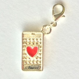 Phone Heart Charm Creastic Bracelet