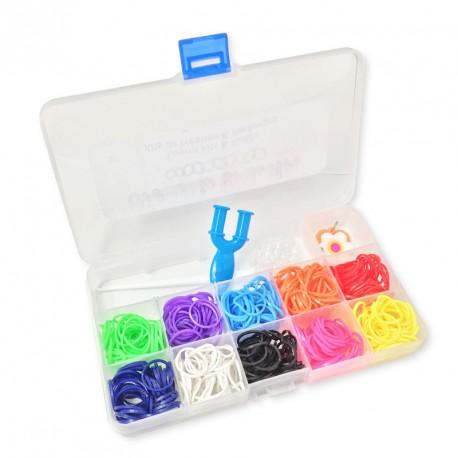 POCKET LOOM KIT Blue - Creastic Bracelet