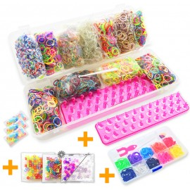 LOOM CHRISTMAS KIT Pink - Creastic Bracelet