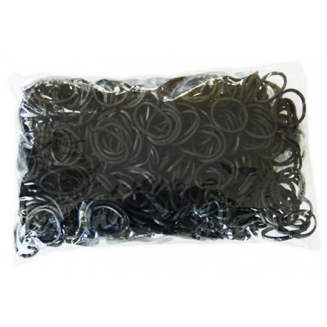 600 BLACK Loom refill Creastic Bracelet