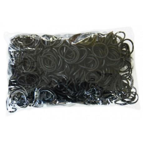 600 élastiques NOIR - Recharge loom