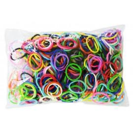 600 élastiques MIX - Recharge loom