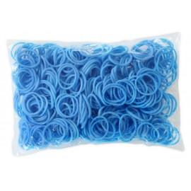 600 élastiques BLEU - Recharge loom