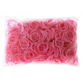 600 élastiques ROSE - Recharge loom
