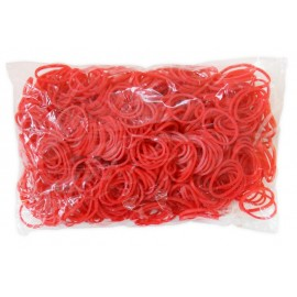 600 élastiques ROUGE - Recharge loom