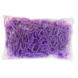 600 élastiques VIOLET - Recharge loom