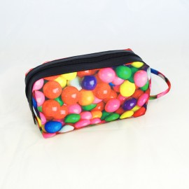 Bubble Gum make-up bag