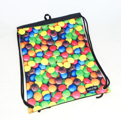 Sac à dos style Smarties