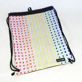 Bagpack polka dot