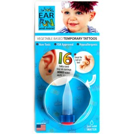 Kit 16 Mini Tattoos enfant