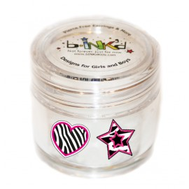Mini jar 24 Tattoos - Zebra