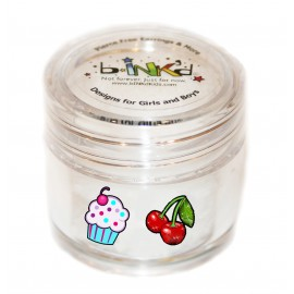 Mini jar 24 Tattoos - Cherries et CupCake