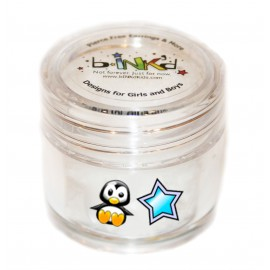 Mini jar 24 Tattoos - Penguin and Star