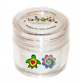 Mini pot 24 Mini Tattoos Tortue-Fleur