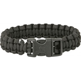 Bracelet Paracorde noir 25cm
