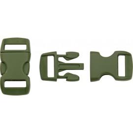 Boucle rapide paracorde 10mm plastique Vert Olive