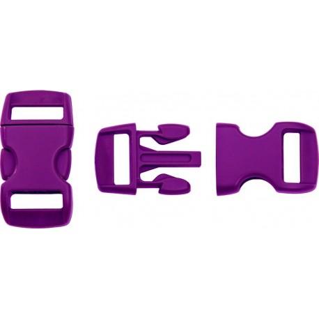 Boucle rapide paracorde 10mm plastique Violet