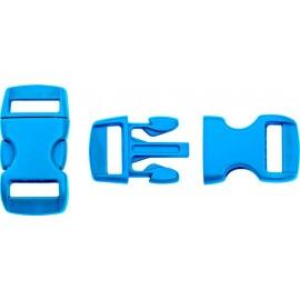 Boucle rapide paracorde 10mm plastique Bleu
