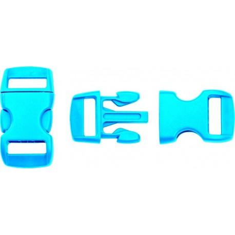 Boucle rapide paracorde 10mm plastique Bleu clair