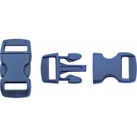 Boucle rapide paracorde 10mm plastique Bleu marine