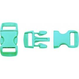 Boucle rapide paracorde 10mm plastique Turquoise