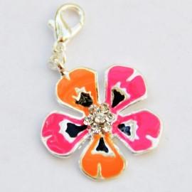Fleur fantaisie pendentif Creastic Bracelet