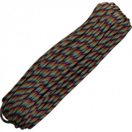 Paracord 550 Dark Stripes