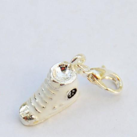 Chaussure blanche pendentif Creastic Bracelet