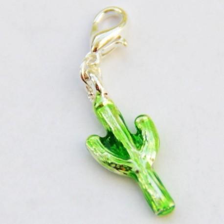Cactus vert pendentif Creastic Bracelet