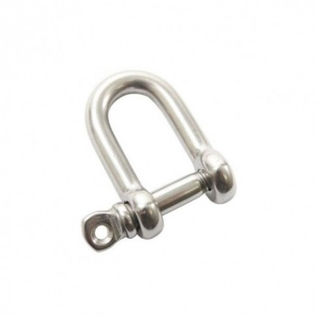 Manille inox pour Paracorde 8mm