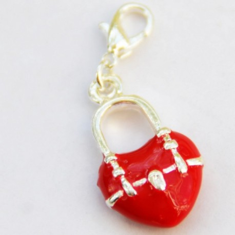 Coeur sac pendentif Creastic Bracelet